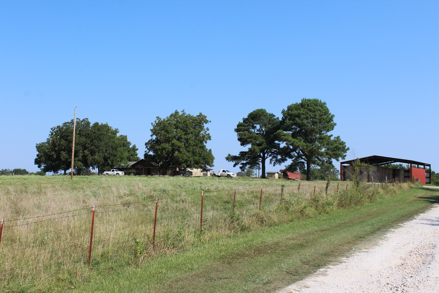 Country Home Ranch Land For Sale Idabel Oklahoma