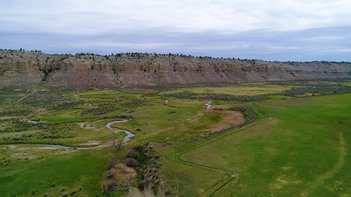 Cattle Ranch With Stunning Views For Sale in Northwest WY