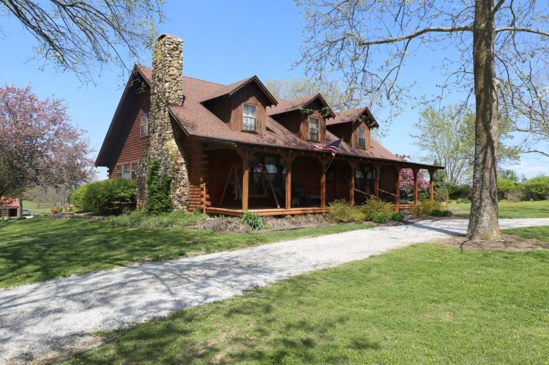 2 Story Ranch Cedar Log Home