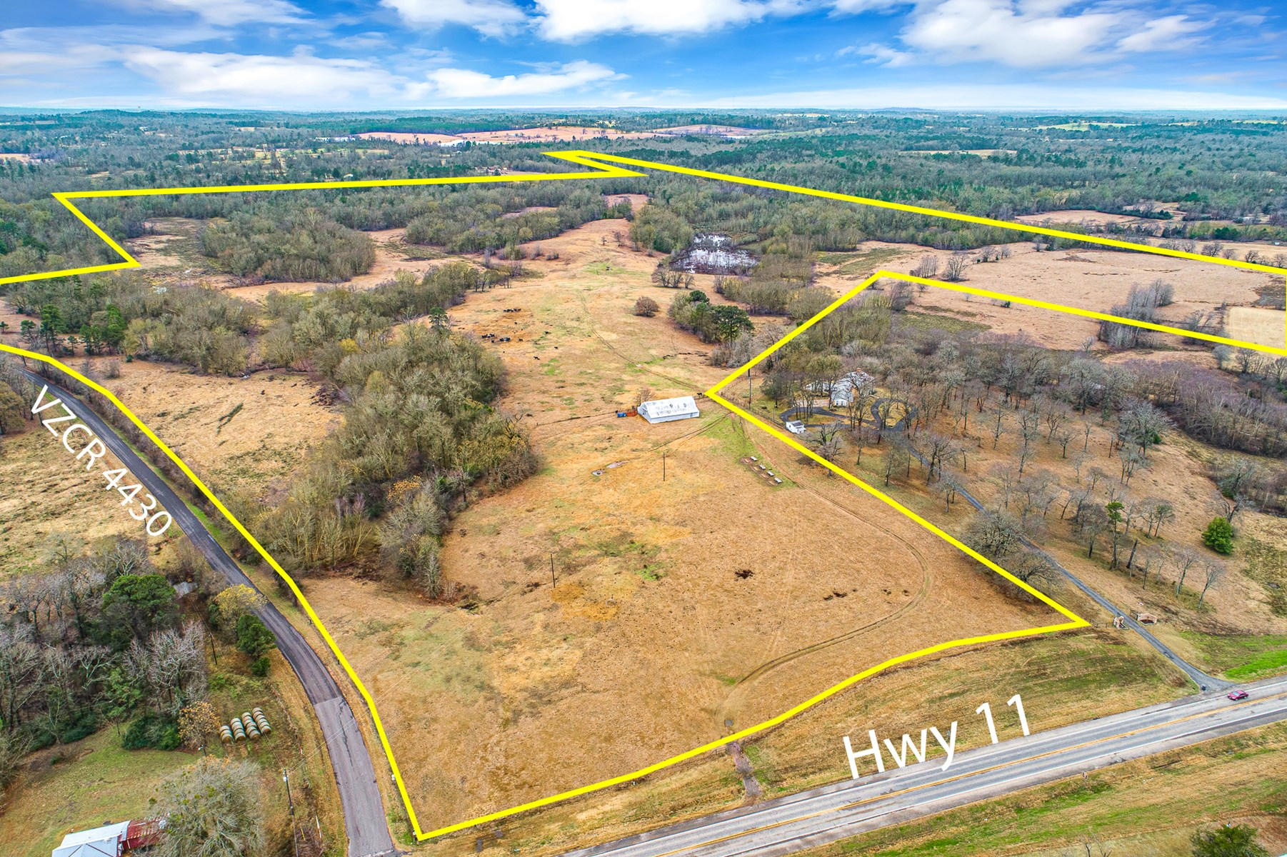 OVER 177 ACRES OF LAND IN EAST TEXAS FOR SALE - EAST OF DFW