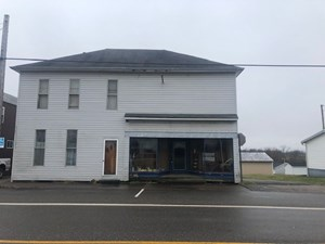 MONROE COUNTY, OH 2 STORY HOME WITH STORE FRONT LOCATION