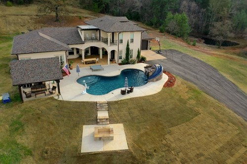 LUXURY MEDITERRANEAN HOME & ACREAGE FOR SALE | EAST TX