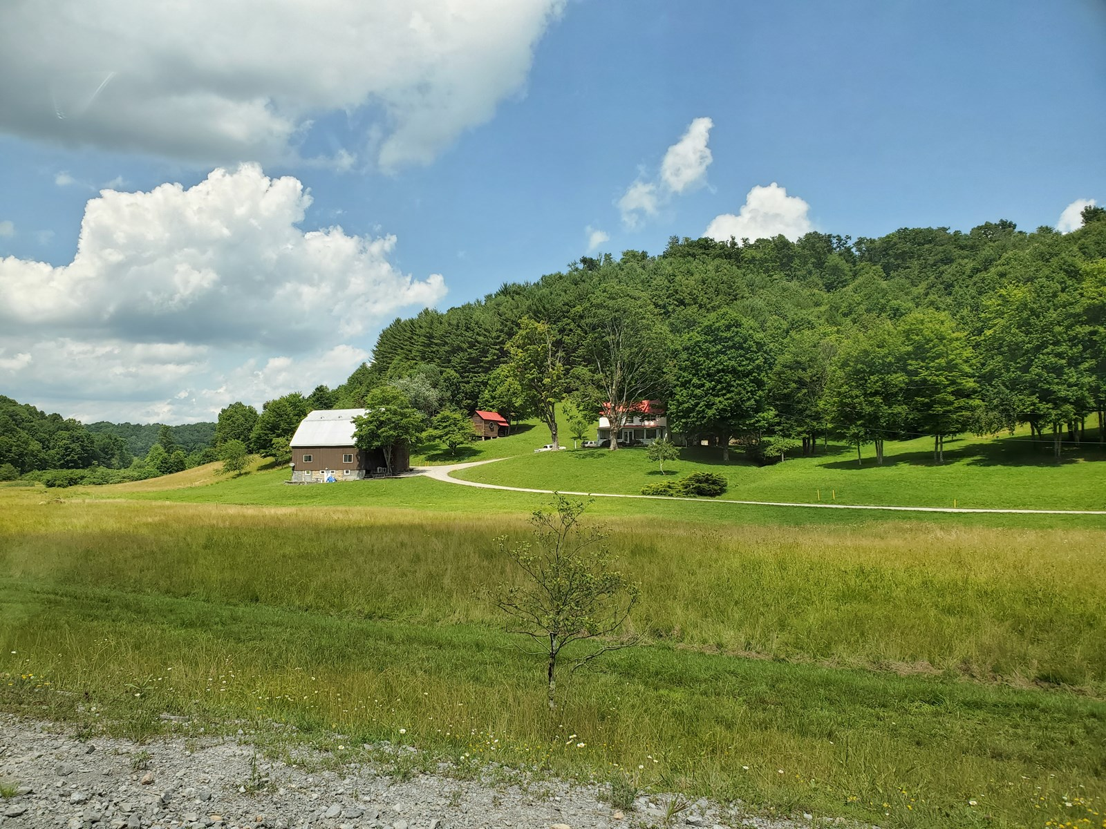 GORGEOUS FARMHOUSE ON 68 AC. IN A SCENIC VALLEY SETTING