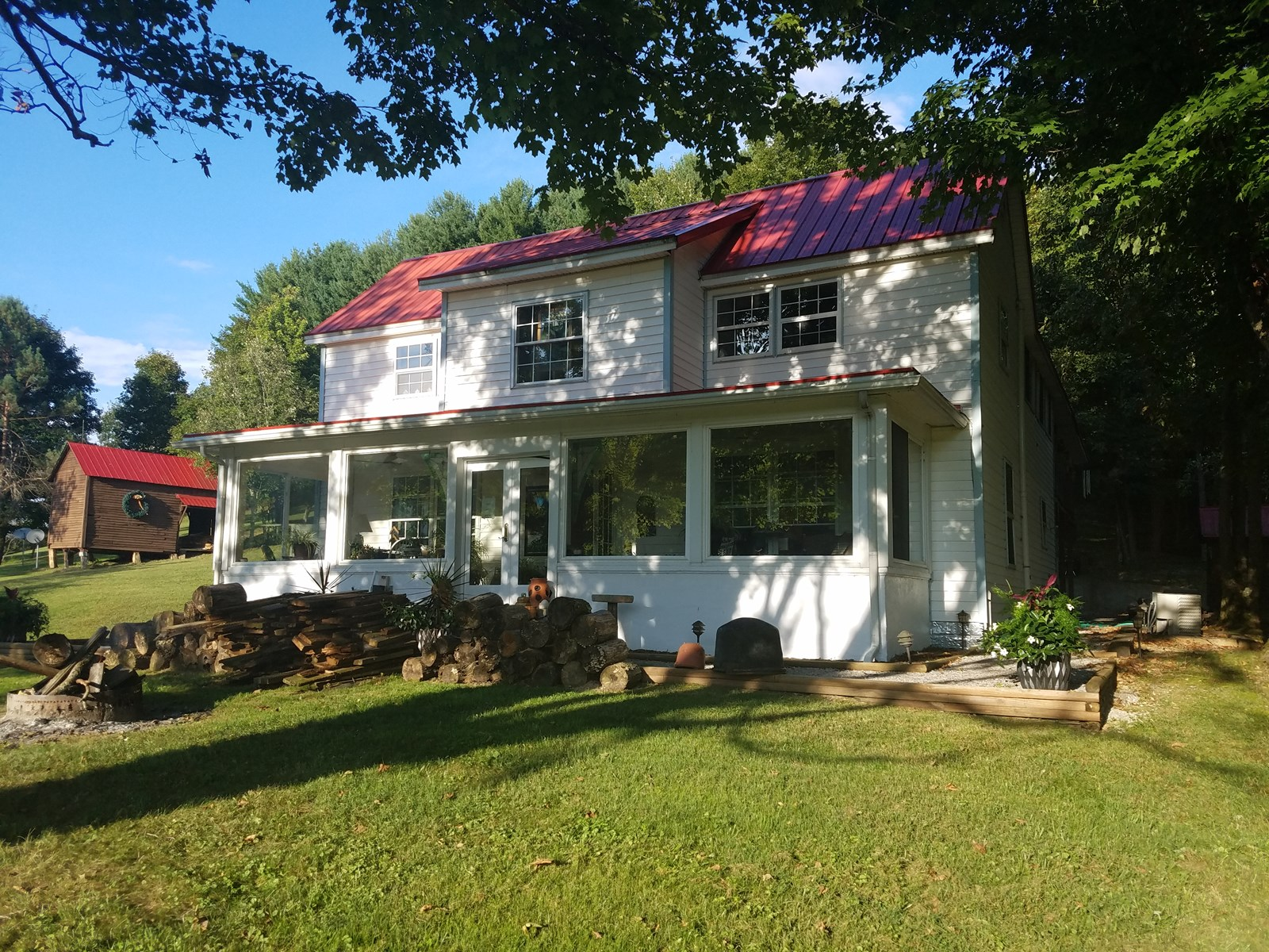 Gorgeous Farmhouse Sitting on 68 Picturesque Acres