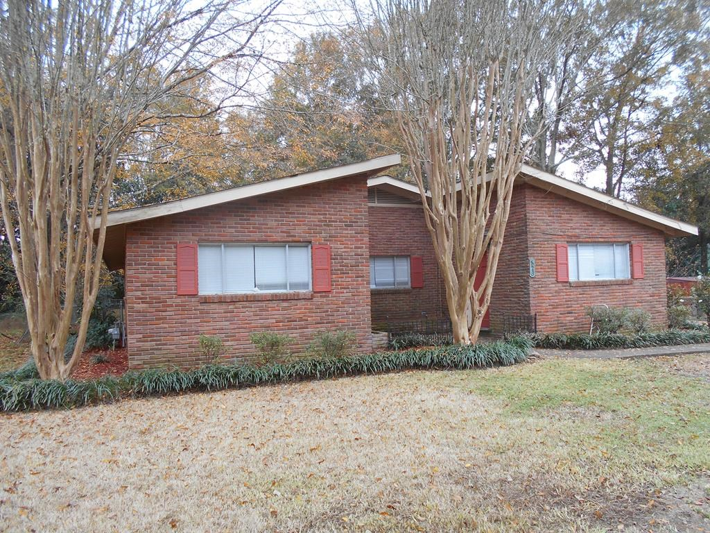 Brick Home For Sale In Town Brookhaven Mississippi