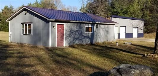 Commercial Building with Acreage for sale Waupaca, WI