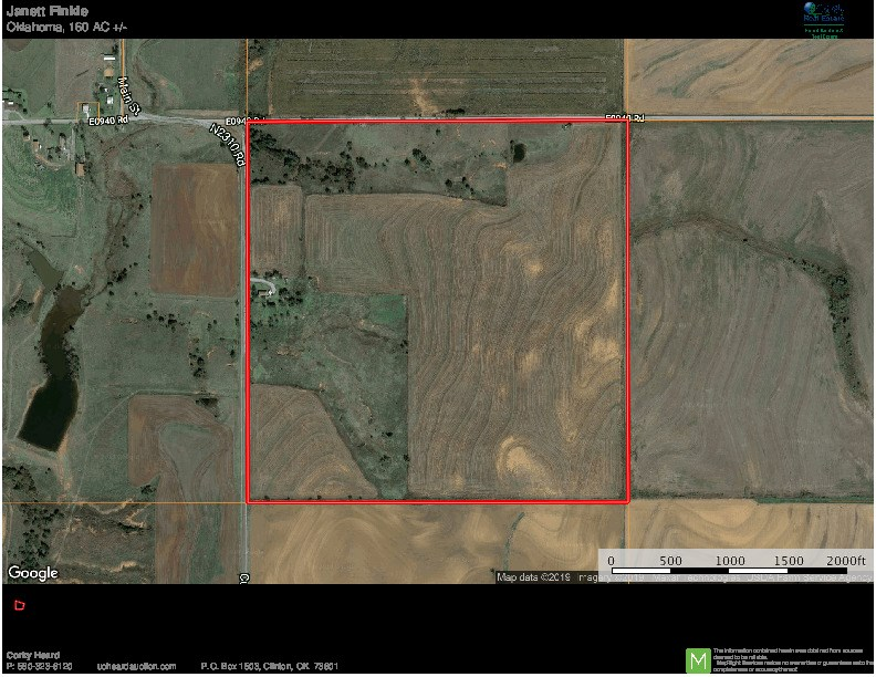 Custer City Land  for Sale