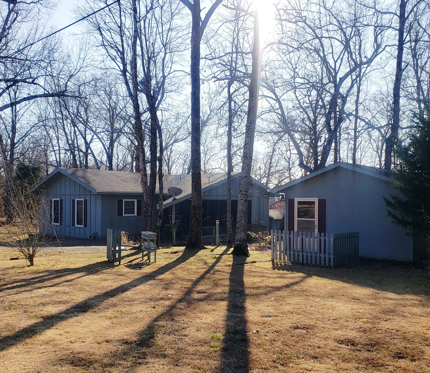 RV Storage with home and Craft Cottage for sale North Ar