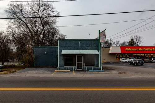 Commercial property located in Mt. Pleasant Tennessee