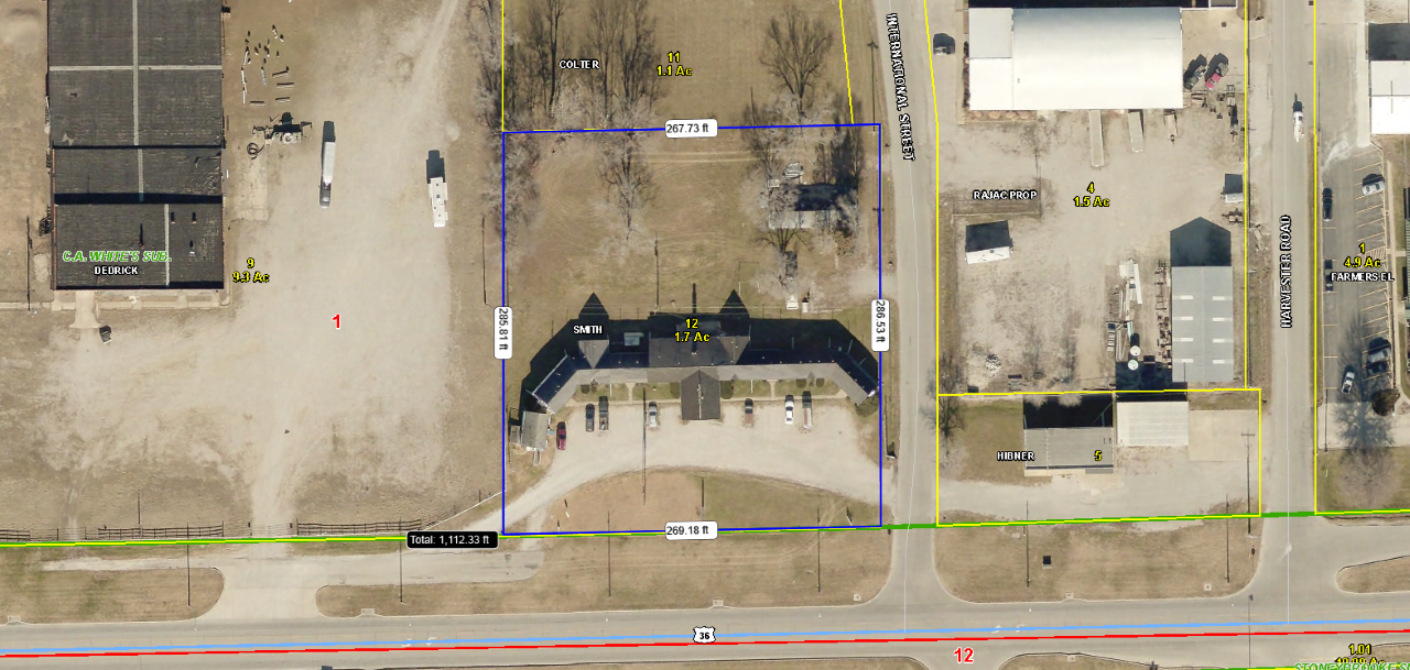 1.7 Acres M/L on Business 36 For Sale Chillicothe MO