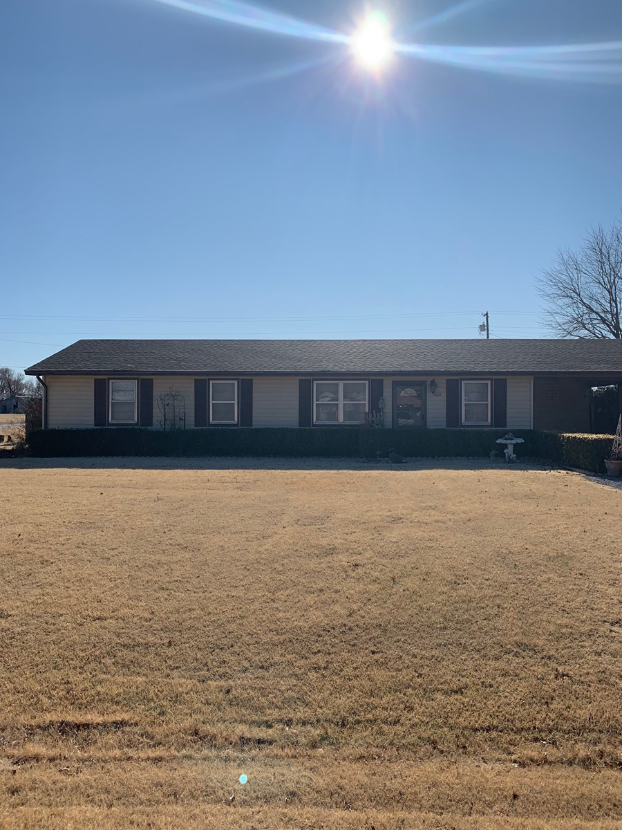 N. Central Okla. Home for Sale Pond Creek Grant County