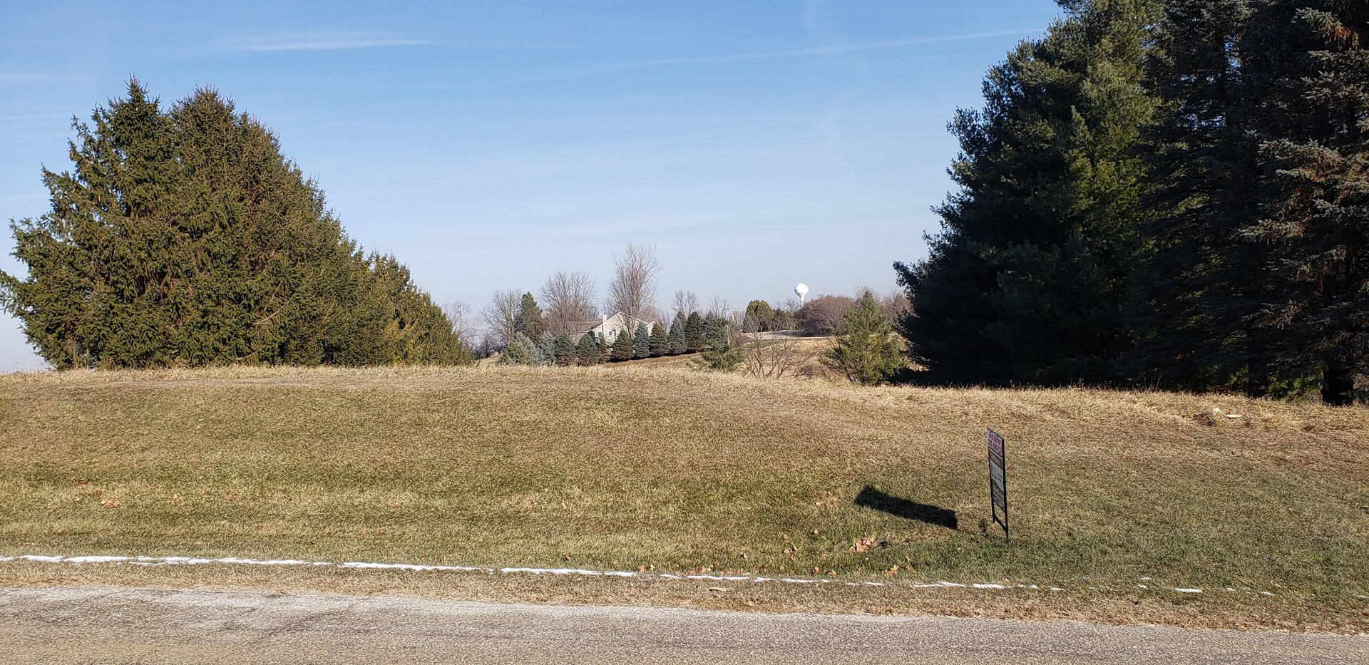 1 acre lot in the county!