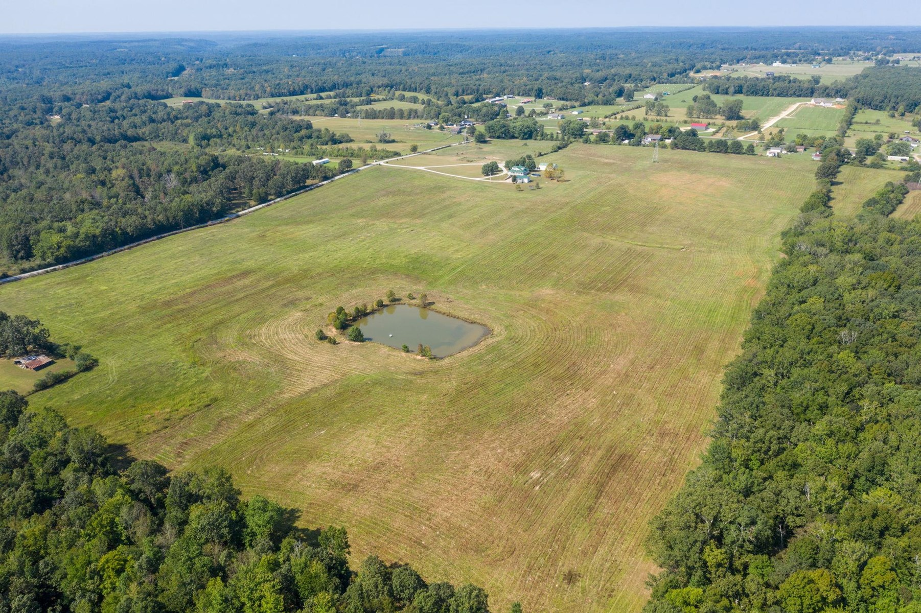 Spectacular Views from 36+/- Acres in Hohenwald, TN