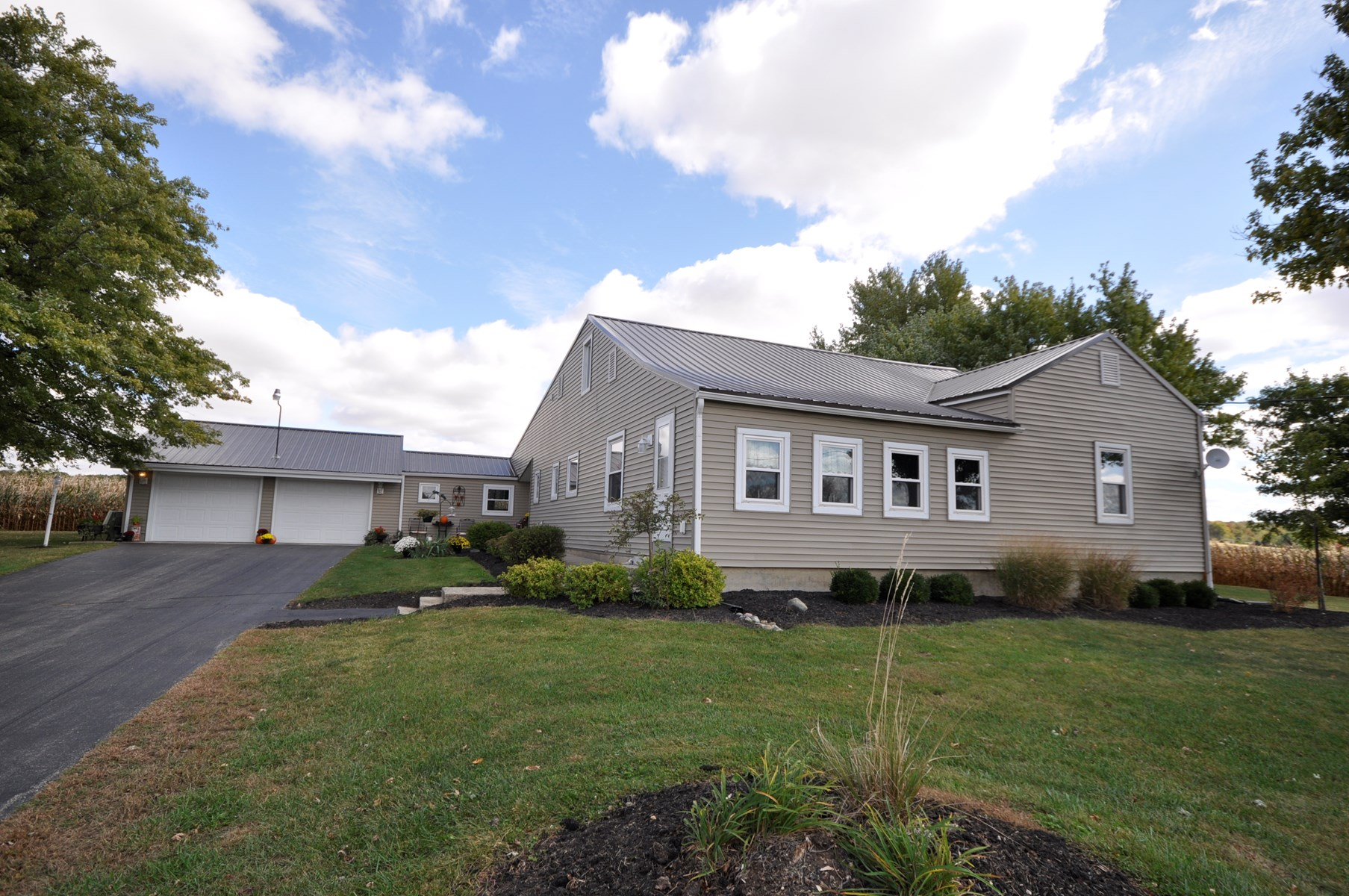 Country Home for Sale Modoc Indiana