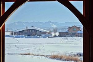 MOUNTAIN VIEW, COBBLE CREEK HOME, MONTROSE, COLORADO