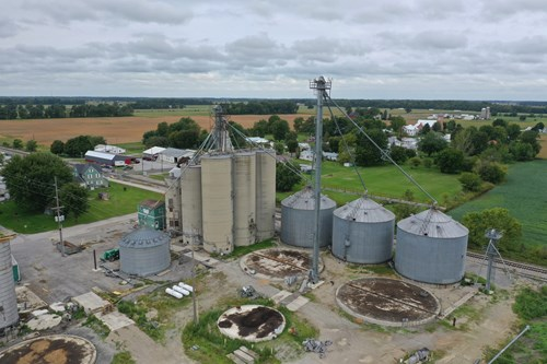 Turnkey Grain Storage Facility For Sale in Wyandot County OH