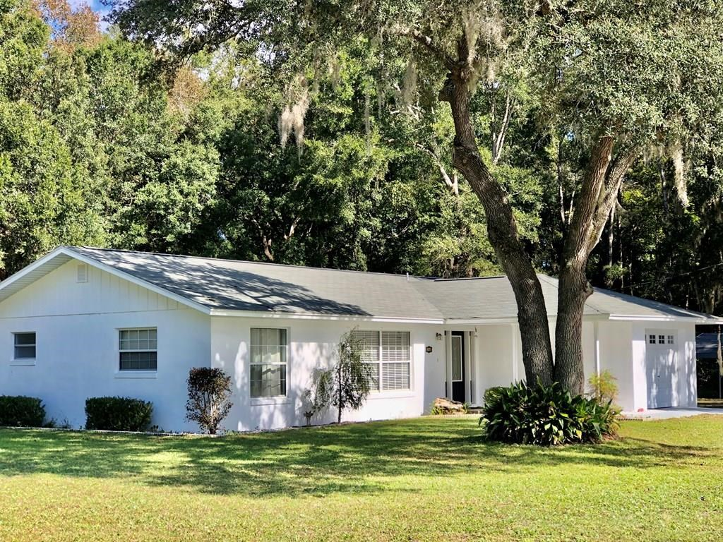 3/2 CONCRETE BLOCK/STUCCO HOME IN CHIEFLAND, FL on .53 Acres