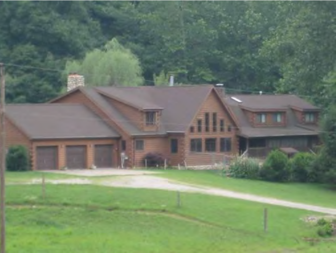 Private West Virginia Log Home with 7.02 Acres