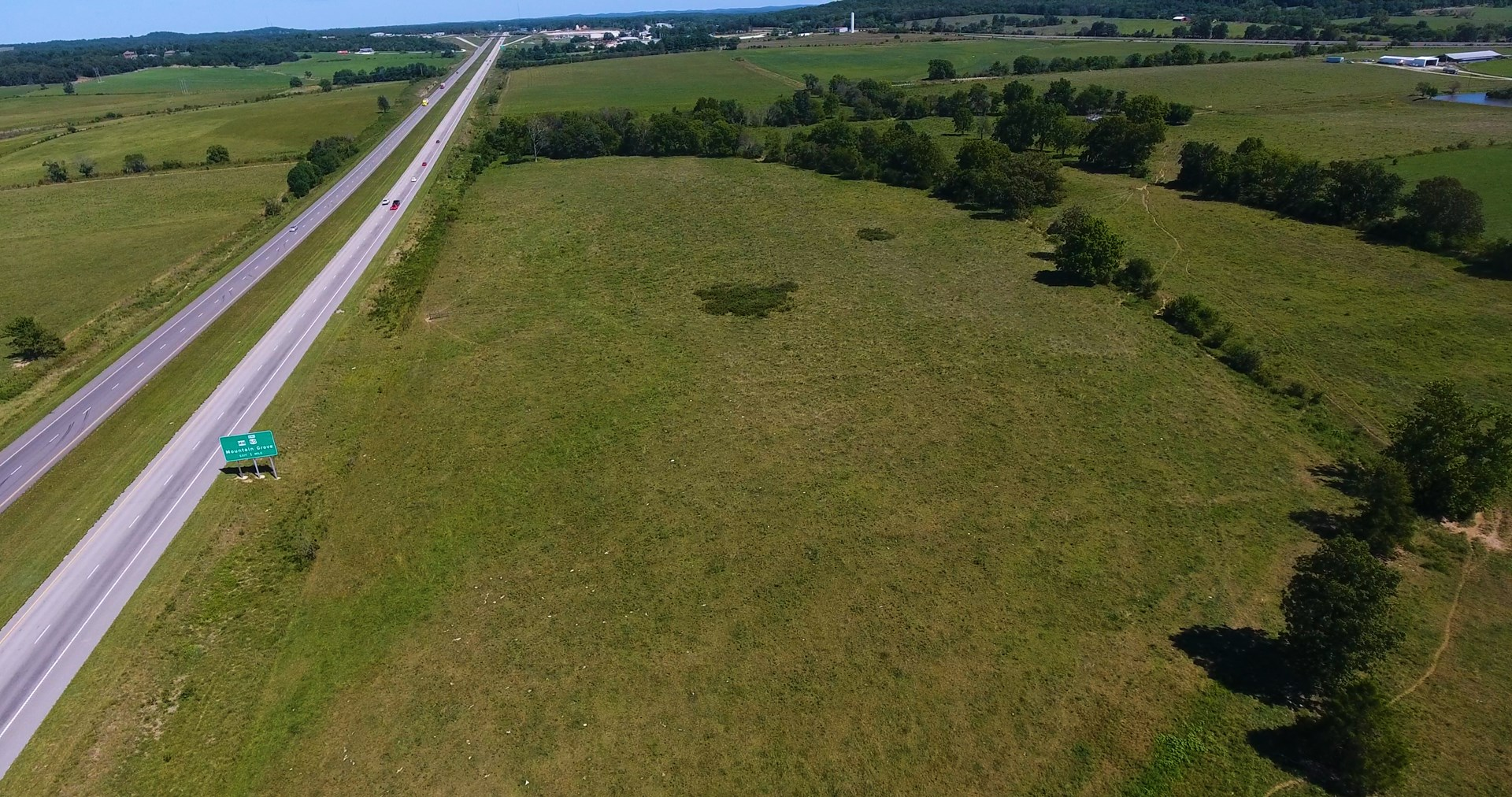Commercial/Industrial Development Land with Highway Frontage