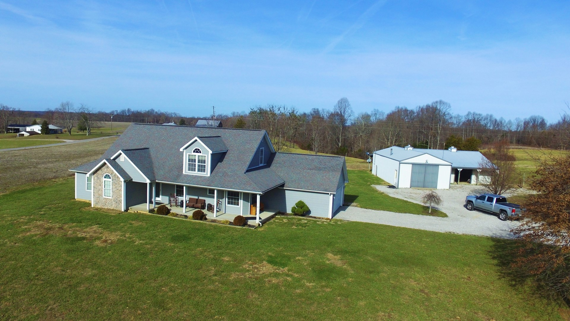 SPACIOUS COUNTRY HOME-ATTACHED GARAGE-OUTBLDG.-CASEY CO. KY.