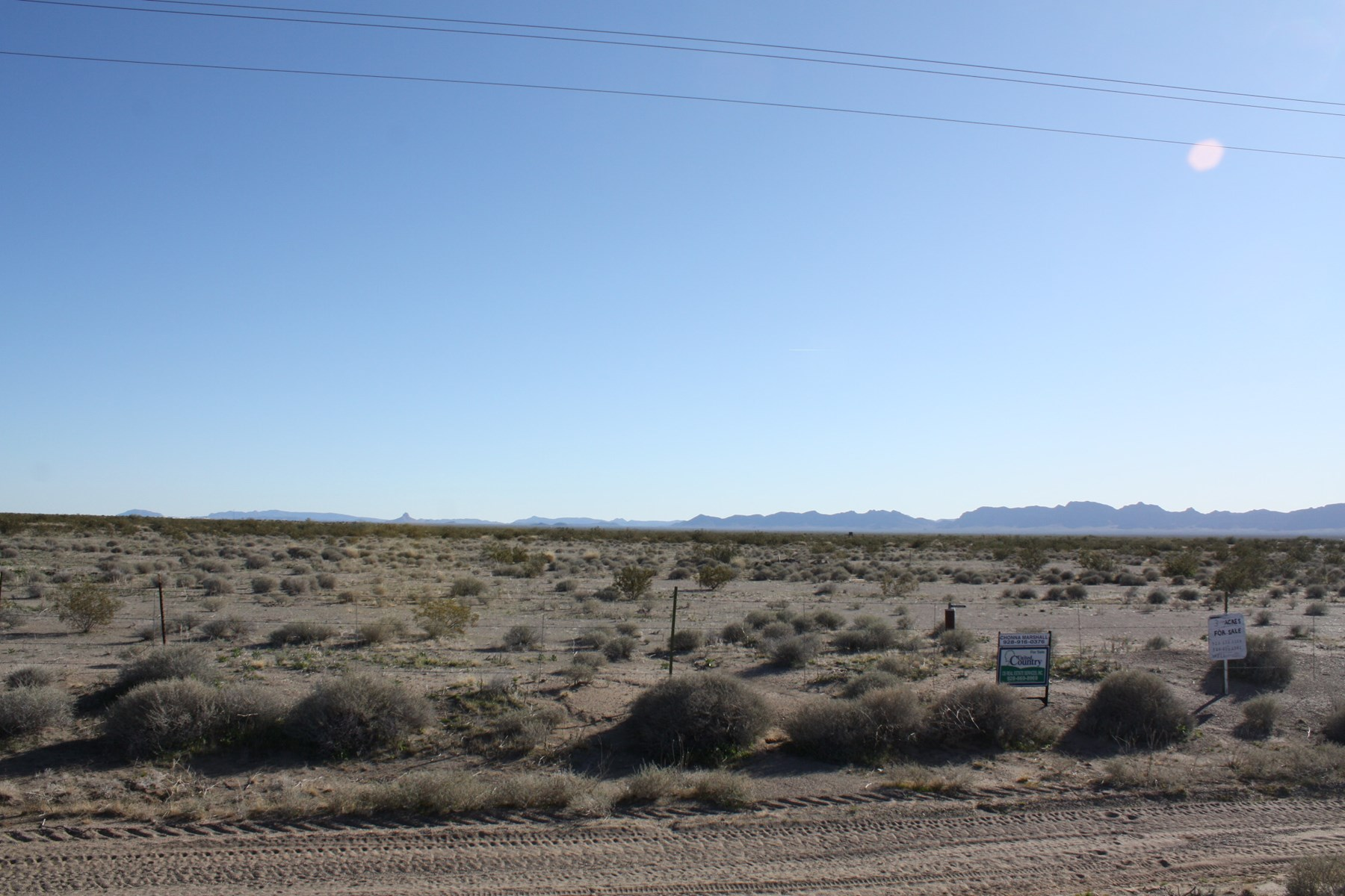 Arizona Acreage Salome Arizona 3 Acres with Well