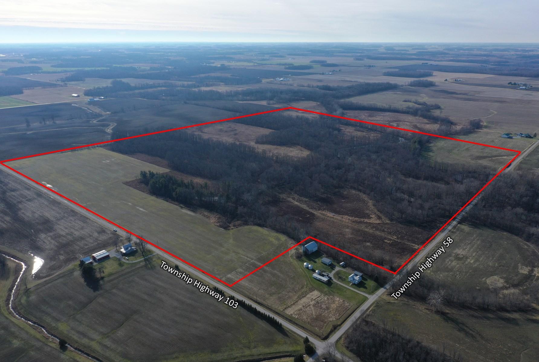 150 + Acres Richard S. Fox Estate Auction- Feb. 8th @ 11 am
