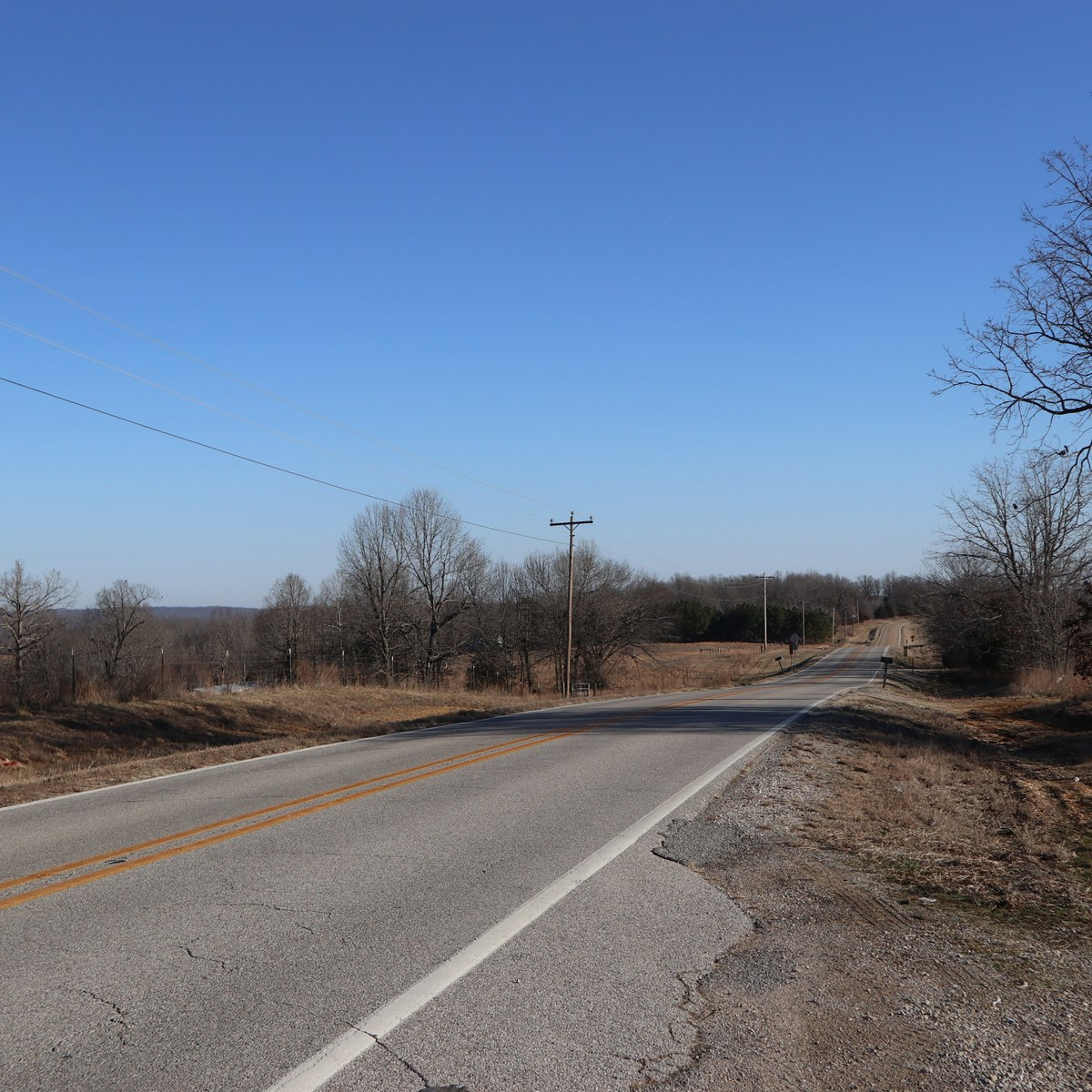 Hwy. Frontage Lot with well and septic for sale