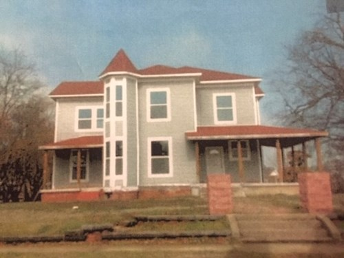 Colonial Home for Sale Poteau,OK/ Historic Fixer Upper
