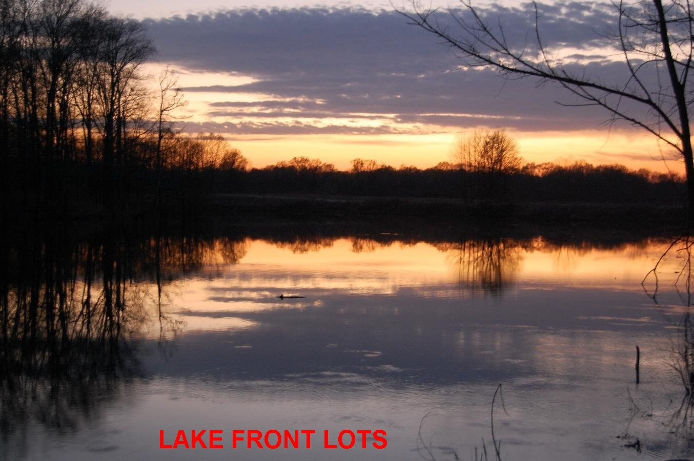 SOLD! 2 TN LAKEFRONT LOTS BIG RIVER PLANTATION @ TN RIVER