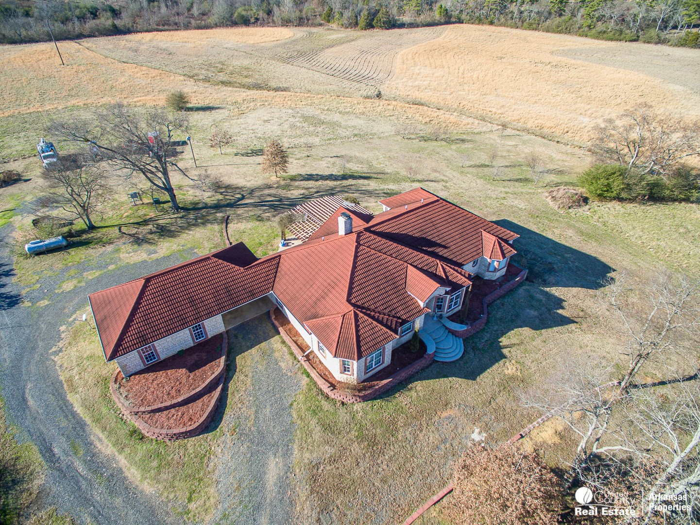Country Home with Land For Sale in Mena, AR