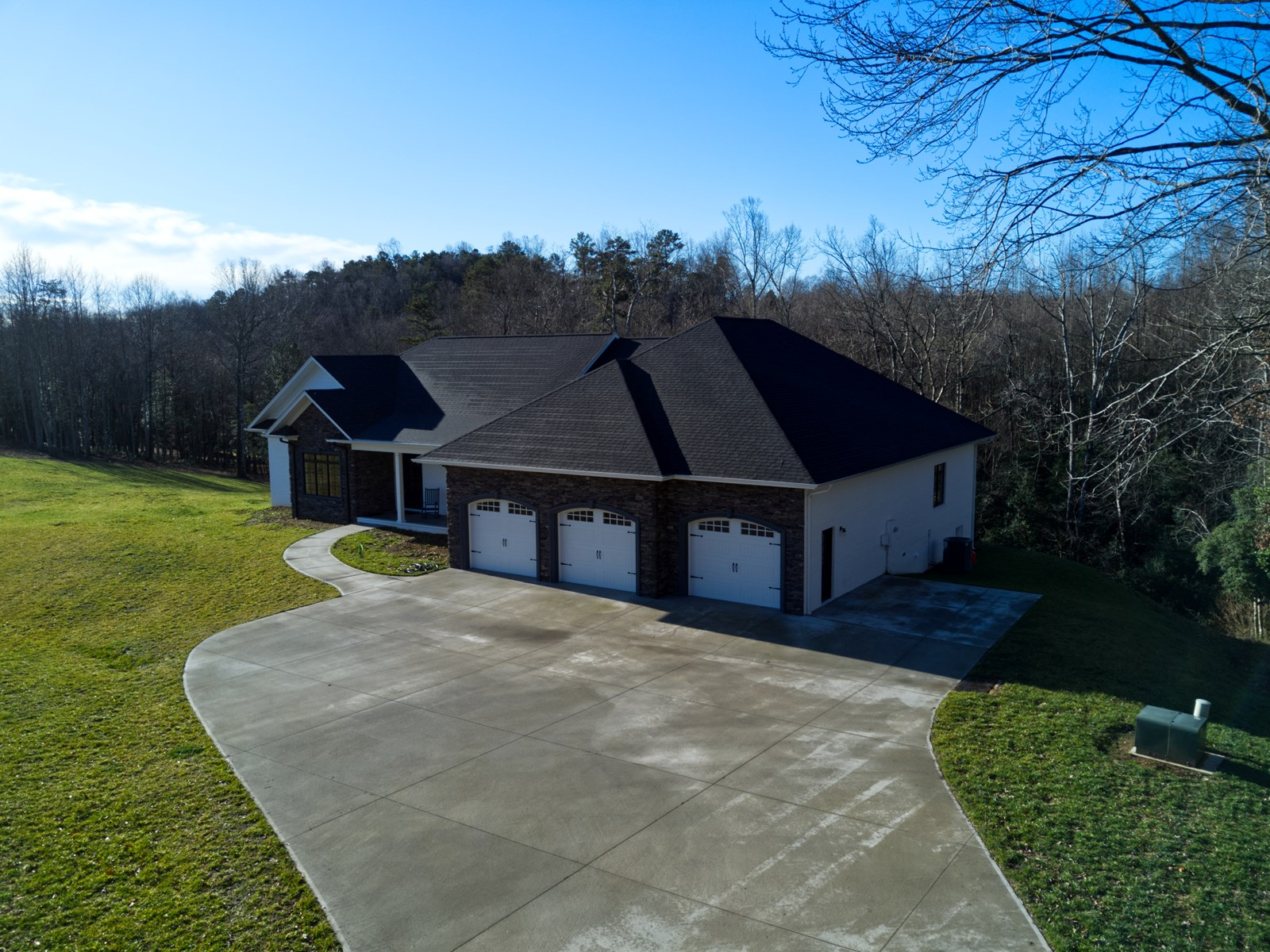 Country Custom Built Home for Sale in Dobson