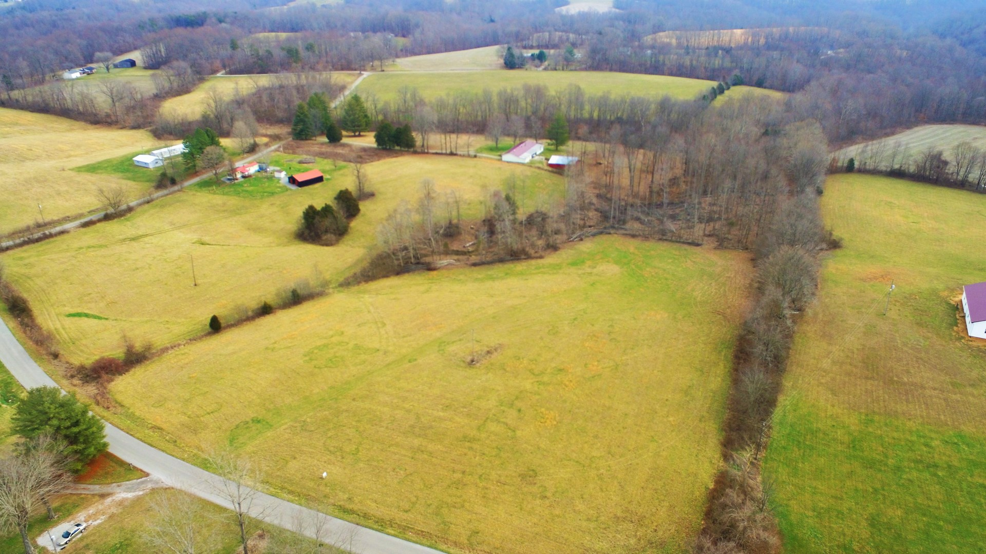UNRESTRICTED ACREAGE-6.38 ACRES-BUILDING LOT-CASEY COUNTY KY