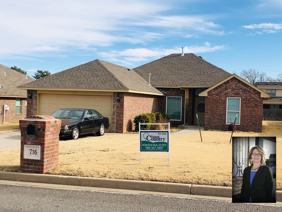 Newer Brick Home For Sale in Alva, OK