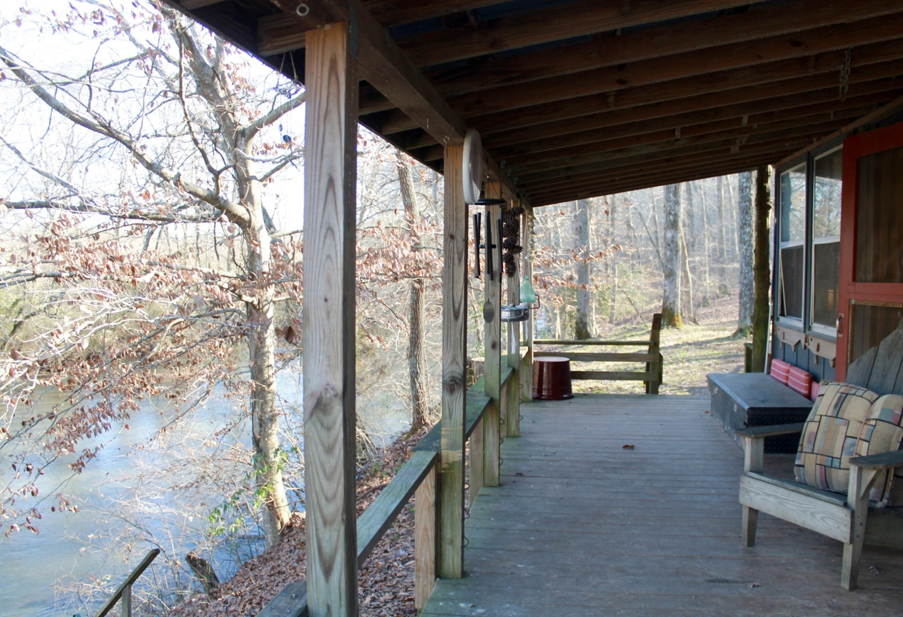 Cabin Located on the Buffalo River, in Hohenwald, Tennessee