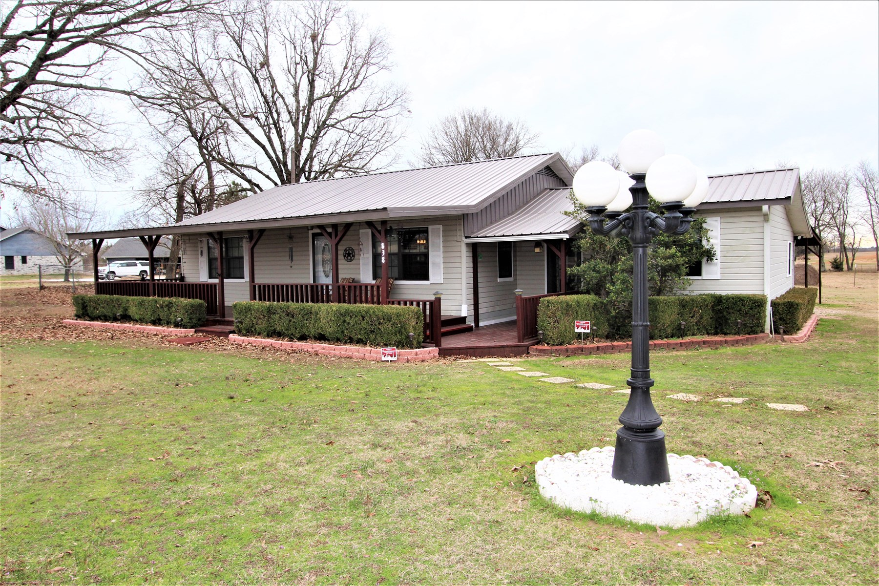 Country Home on Acreage For Sale Powderly Texas Lamar County
