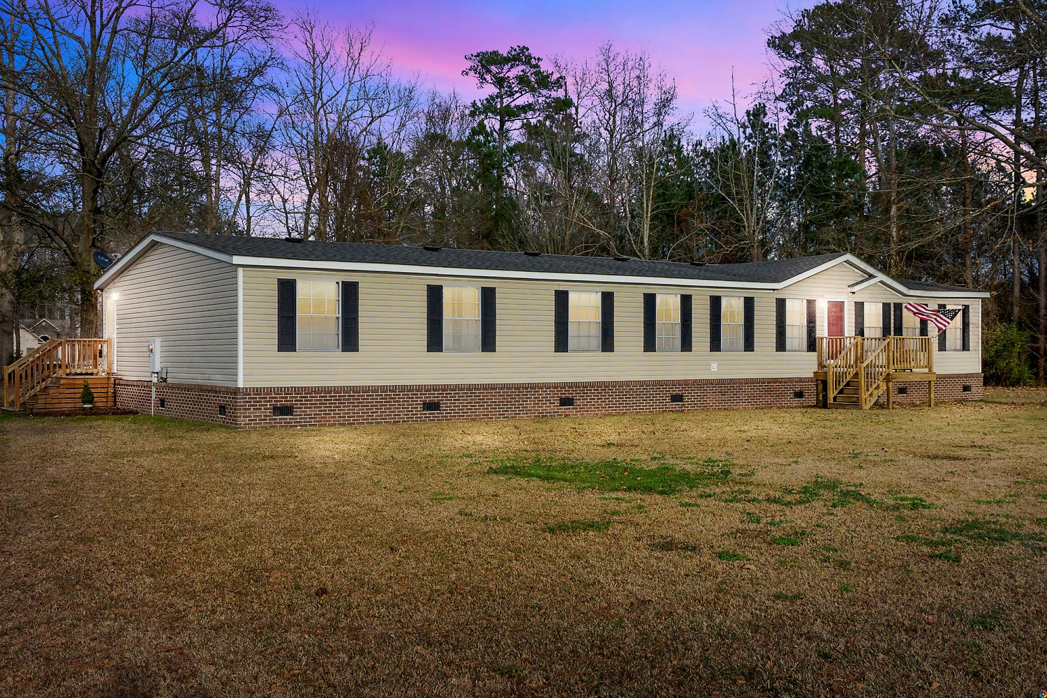 Spacious yet Cozy home situated on 1.53 acres