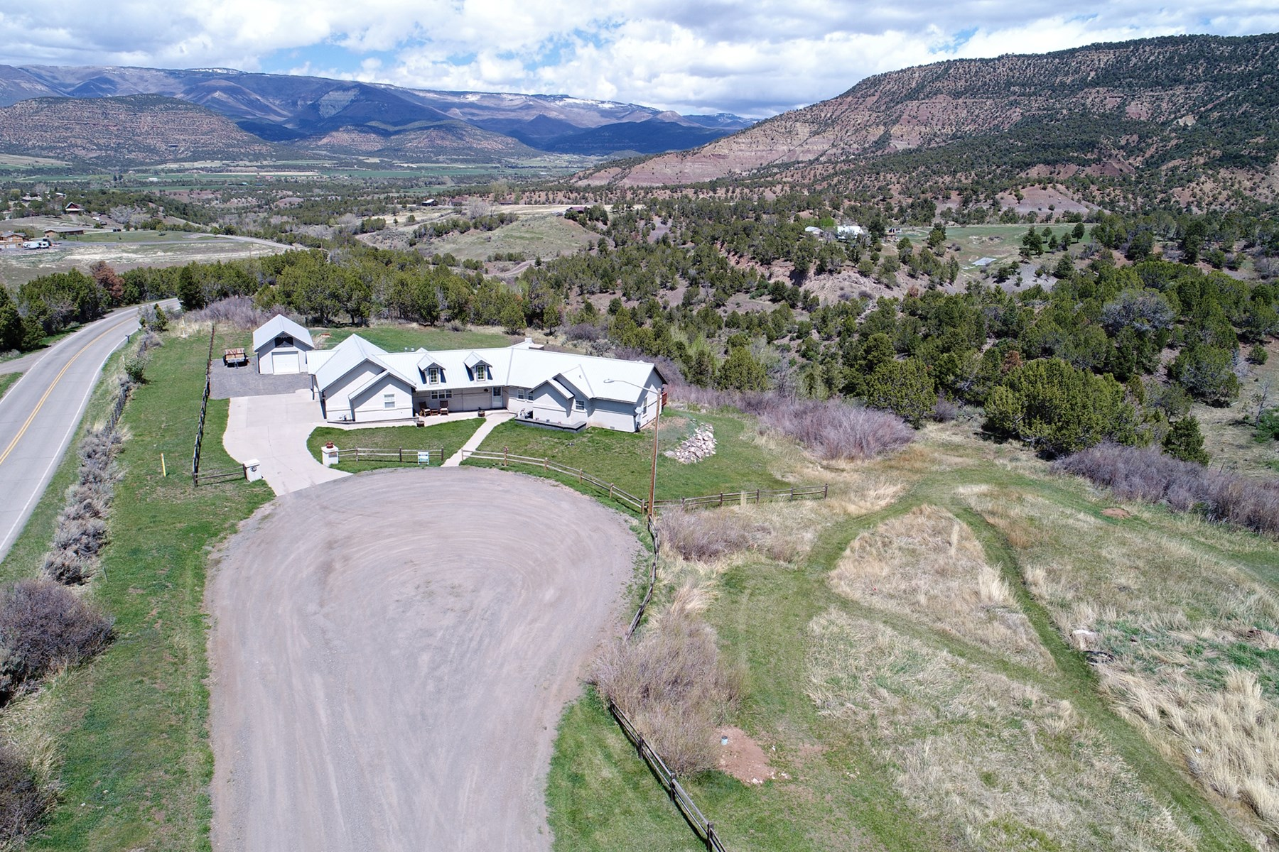 Ranch Style Home with Shop and Acreage for Sale in Colorado