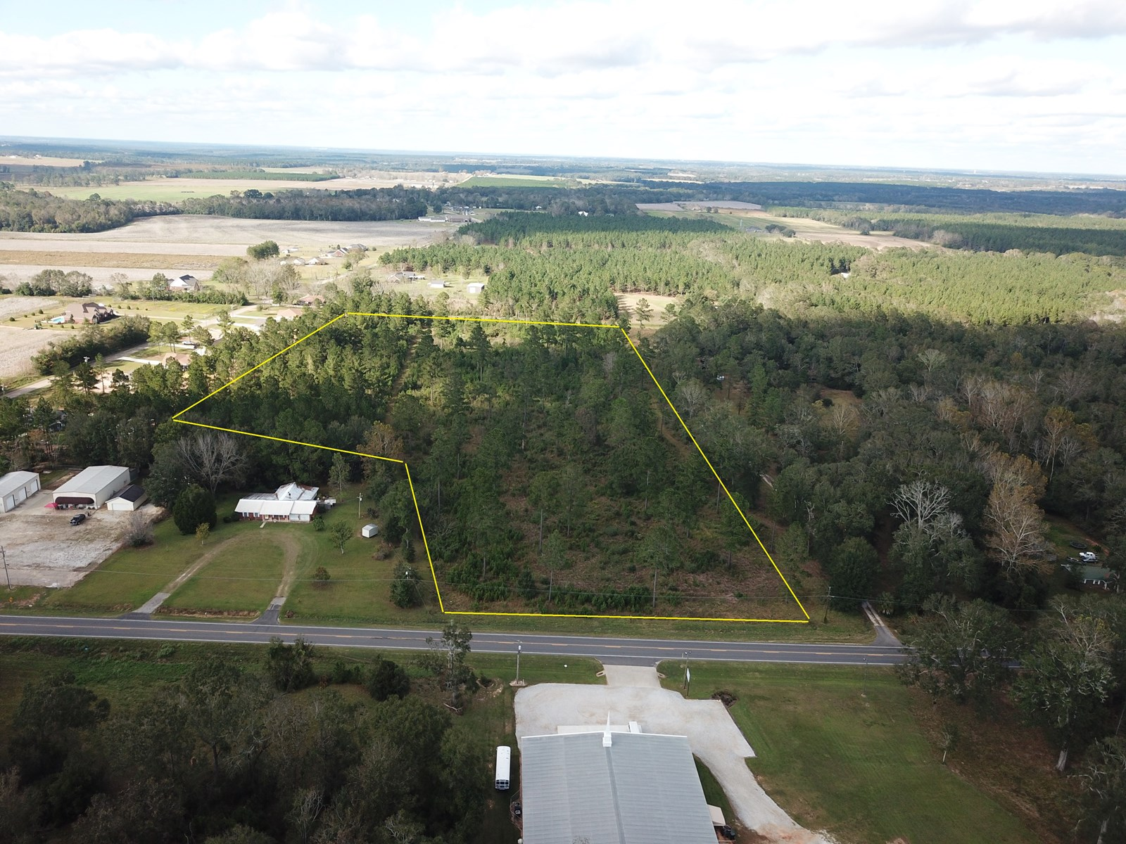 14 ACRES FOR SALE ON HIGHWAY 52, HARTFORD, ALABAMA