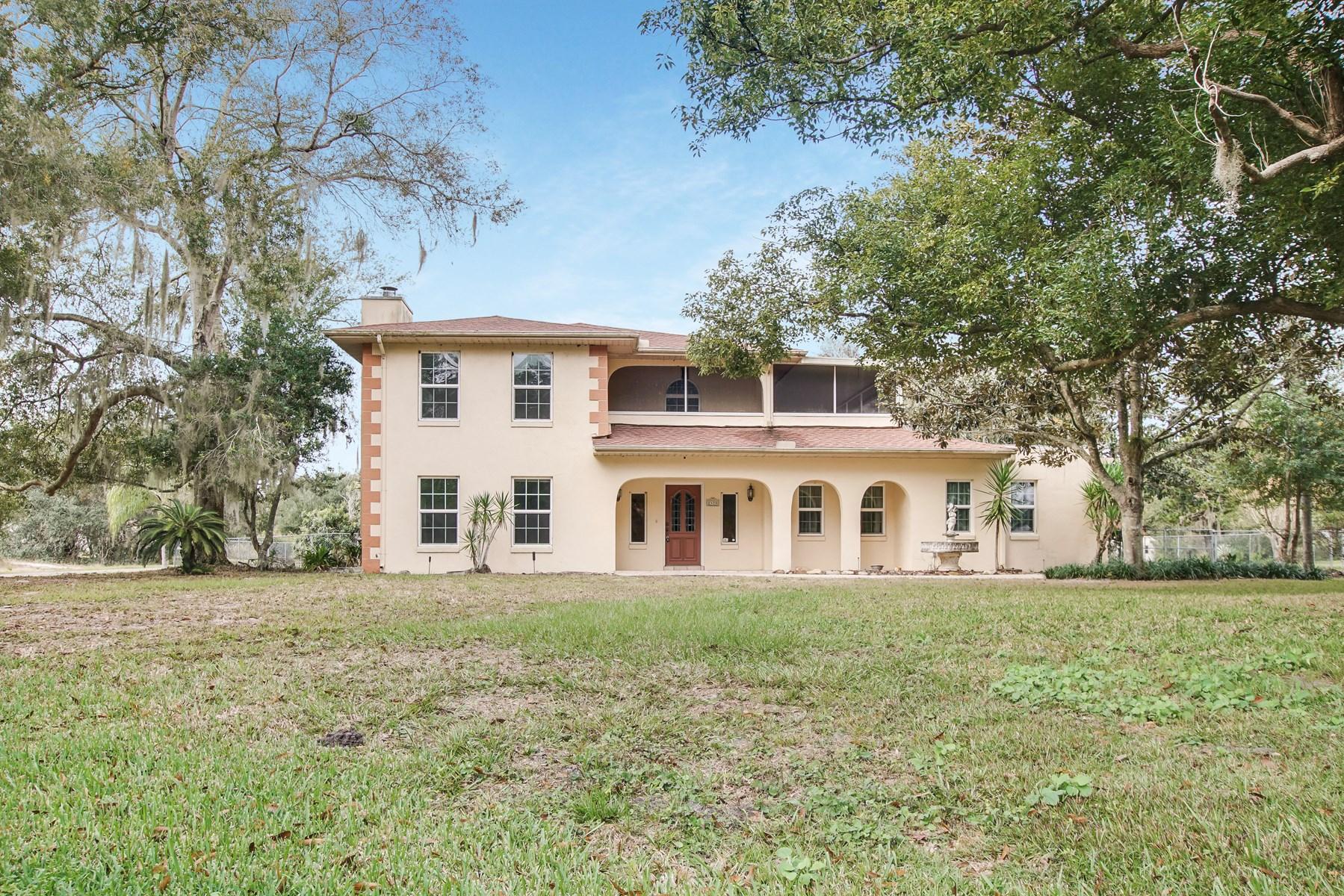 2 STORY MEDITERRANEAN HOME, CENTRAL FLORIDA, LAKE WALES