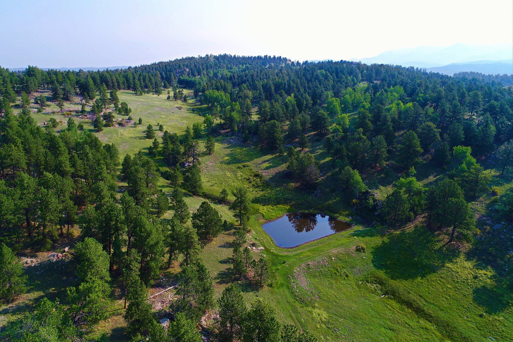 COLORADO RANCH WITH WATER RIGHTS BORDERING BLM 375 ACRES