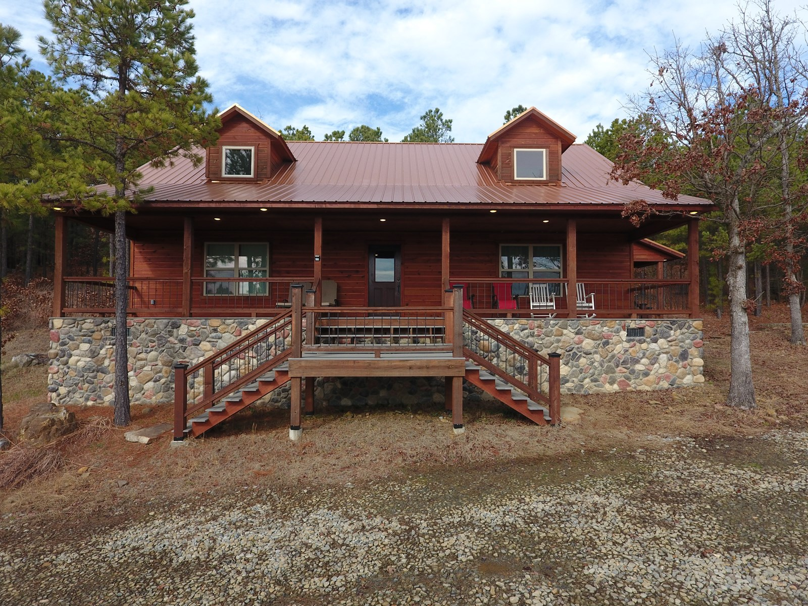 Income Producing Recreational Cabin with Lake View