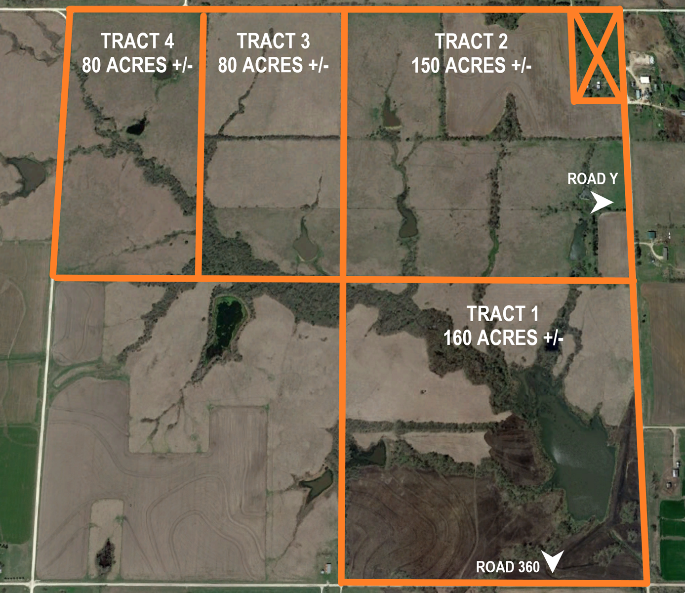 EASTERN KANSAS AG LAND & HUNTING PROPERTY AUCTION