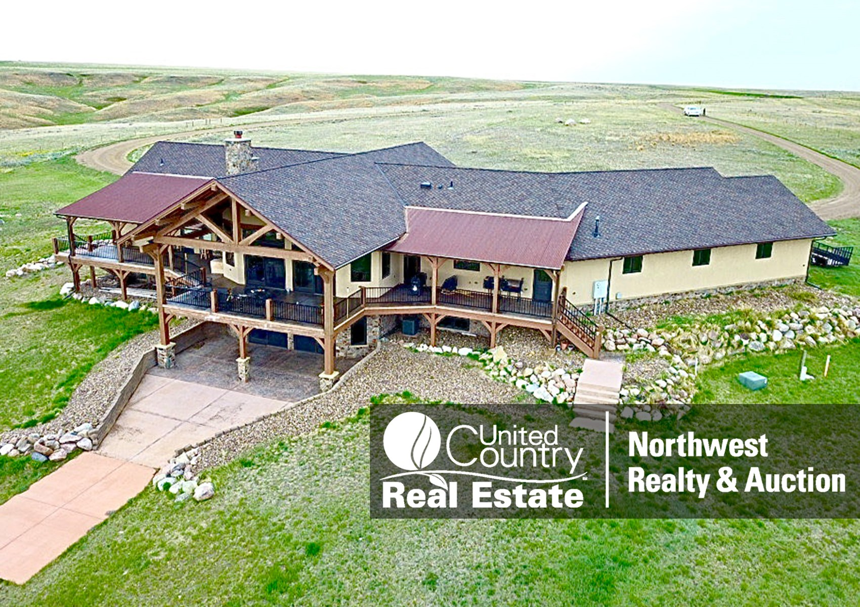 Luxury Ranch with Custom-Built Home For Sale in Malta, MT