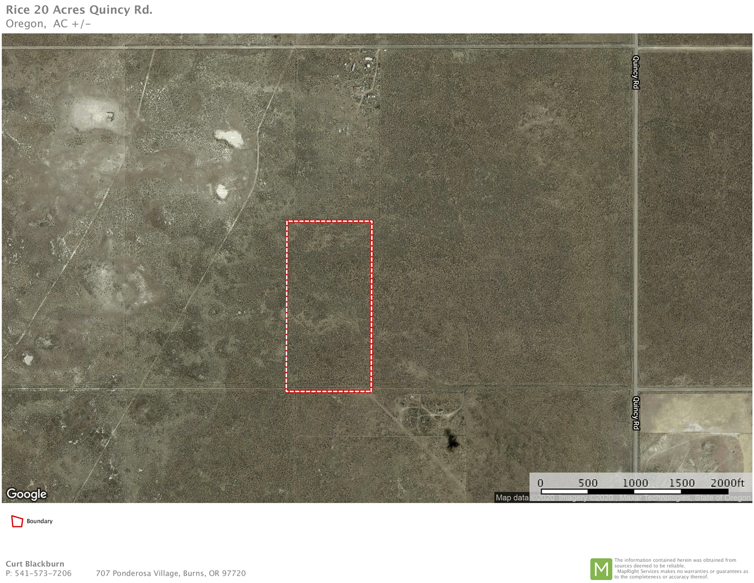 20 ACRES NEAR CRANE OREGON