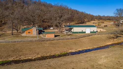 Working Cattle Ranch & Hunting Land For Sale in Northeast OK