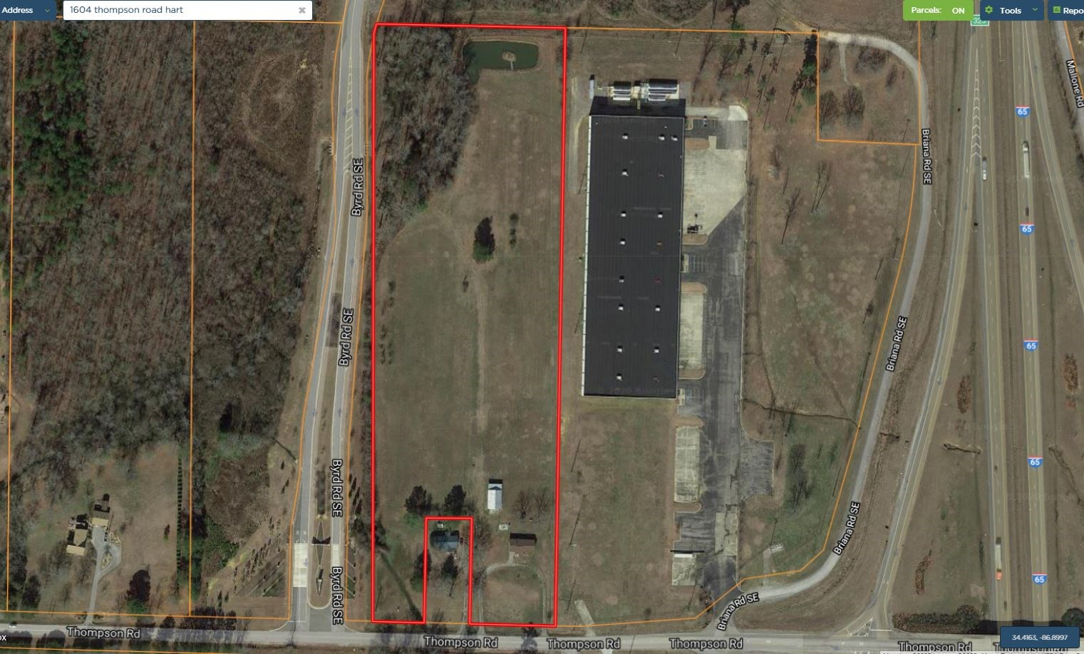 Commercial property for sale Hartselle Morgan County Alabama