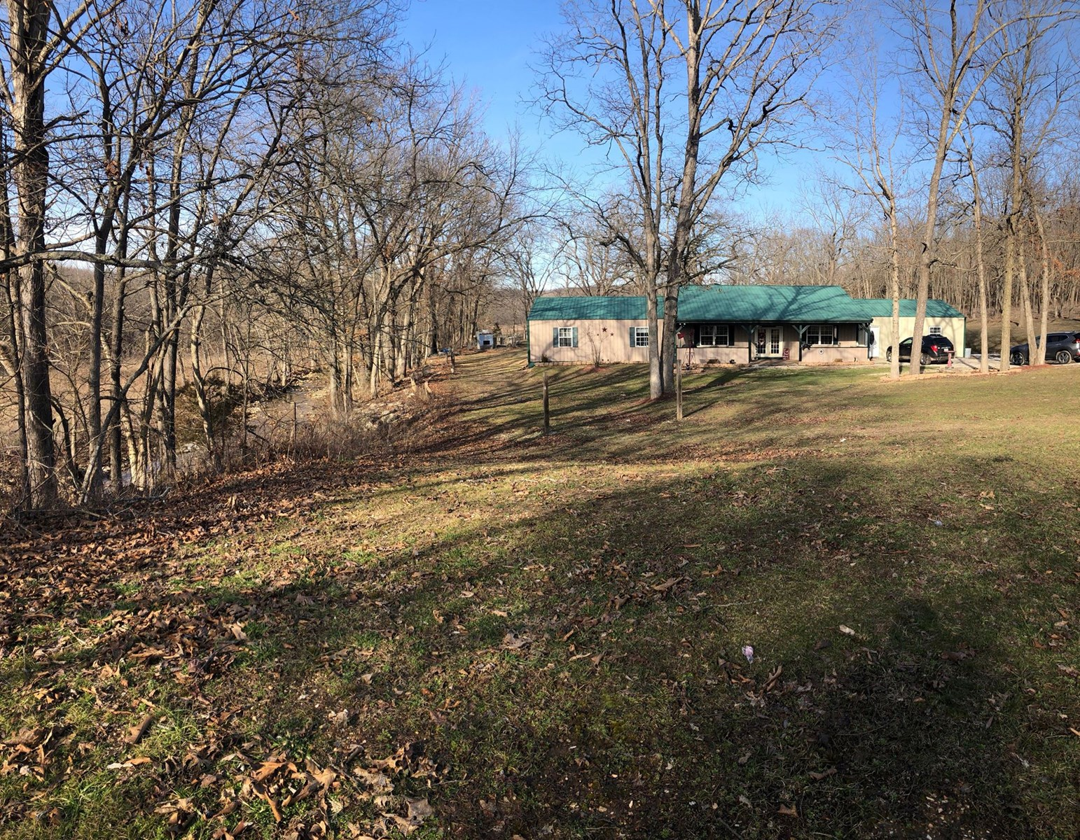 Large home on almost 8 acres in Douglas County.