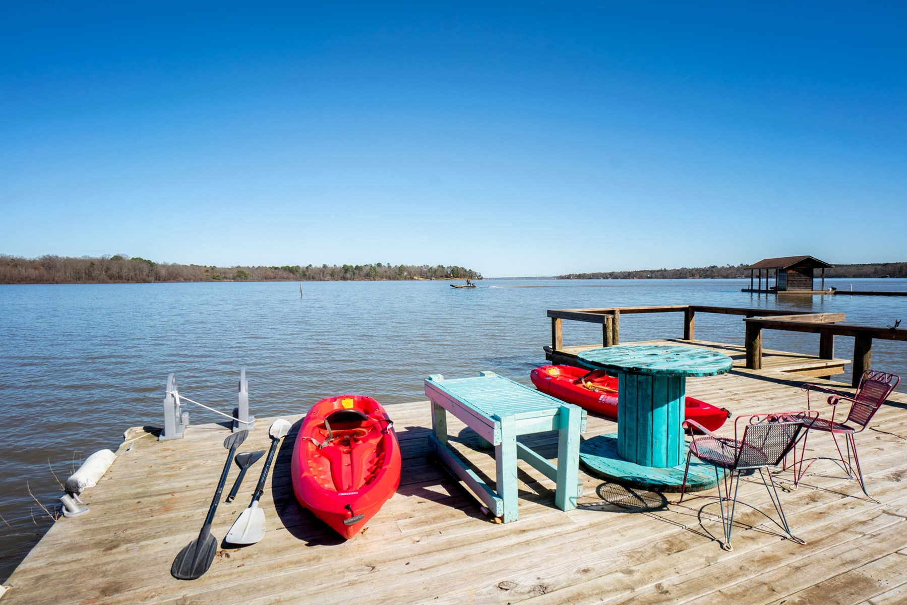 WATERFRONT HOME LAKE BOB SANDLIN IN EAST TEXAS