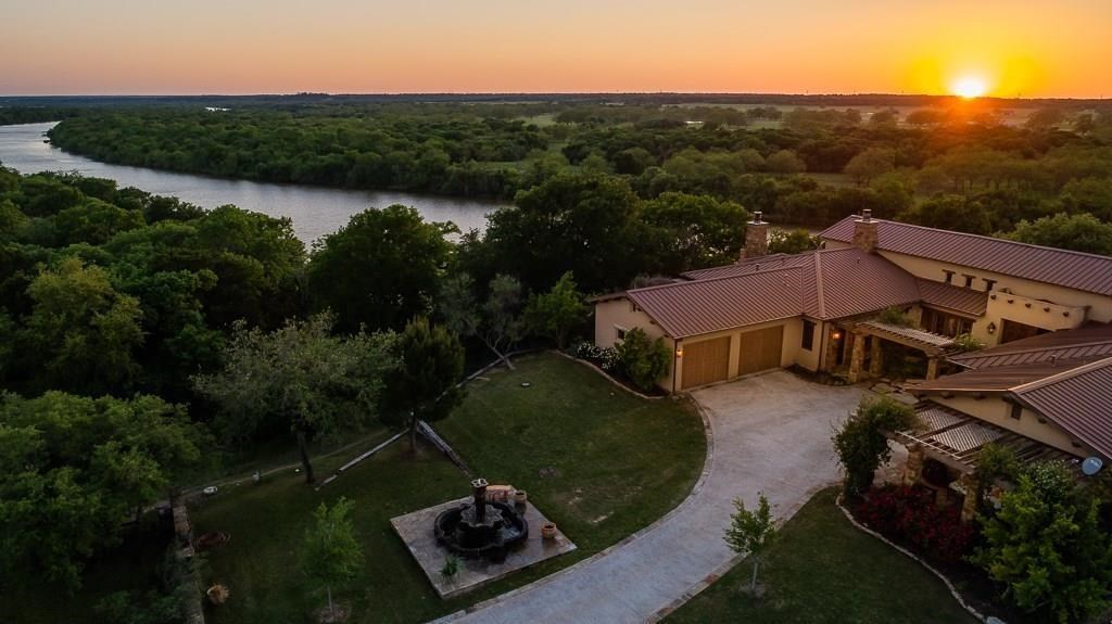 Riverfront Home For Sale Weatherford TX  Brazos River