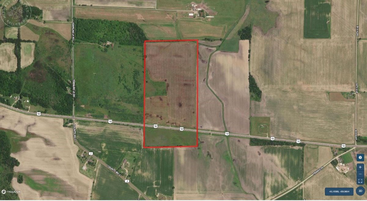 Juneau County WI Waterfowl and Deer Hunting Land for Sale